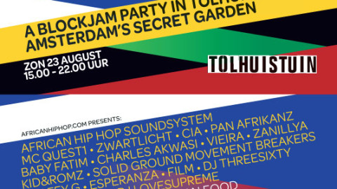 Doin' it in the park – Sunday August 23rd in Amsterdam