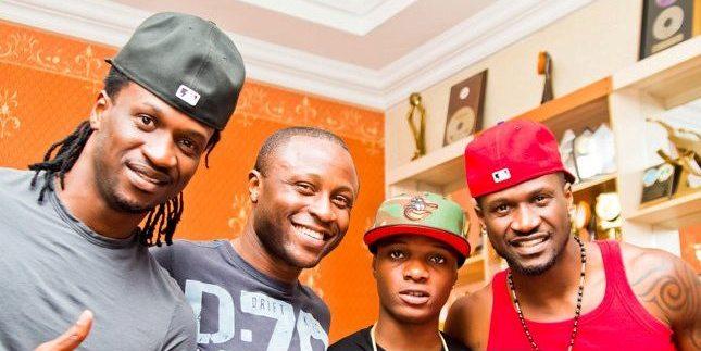 Peter Okoye, Ropo Akin, Wizkid, Paul Okoye
