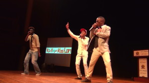 Site-C Squad performed at the Inaugural Hip Hop Kaslam Spaza Awards, pic by Mzi Sali